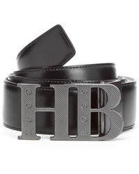 BOSS Green - Men's Balwinno Leather Belt - Lyst