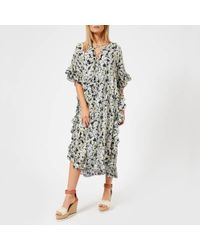 See By Chloé - See By Chloe Women's Multi Print Maxi Dress - Lyst