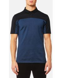 HUGO - Men's Domfort Colour Block Polo Shirt - Lyst