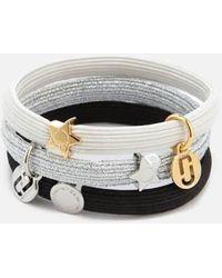 Marc Jacobs - Women's Mj Double Cut Out Pony Bracelet - Lyst