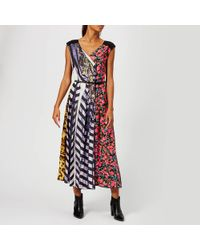 Marc Jacobs Striped Floral Summer Dress