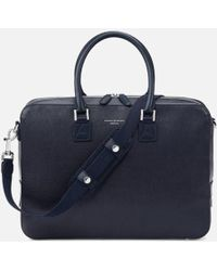 Aspinal - Mount Street Small Briefcase - Lyst