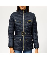 Barbour - Women's Gleann Quilted Coat - Lyst