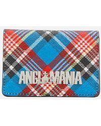 Vivienne Westwood - Anglomania Women's Shuka Tartan Small Credit Card Holder - Lyst