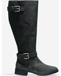 Cole Haan - Hastings Leather Knee-High Boots - Lyst