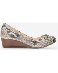 Cole Haan - Tali Grand Lace Wedge (40mm) - Lyst