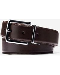 Cole Haan - 32mm Reversible Dress Leather Belt - Lyst