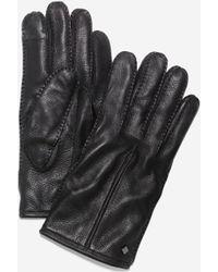 Cole Haan - Men's Handsewn Deerskin Leather Gloves - Lyst