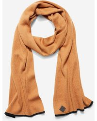 Cole Haan - Cashmere Blend Tipped Rib Muffler Scarf - Lyst