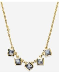 Cole Haan - Summer Sunset Zebra Jasper Necklace - Lyst