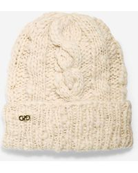 Cole Haan | Chunky Cable Cuff Hat | Lyst