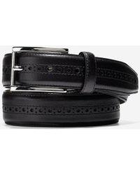 Cole Haan - Hamilton Grand 32mm Brogued Belt - Lyst