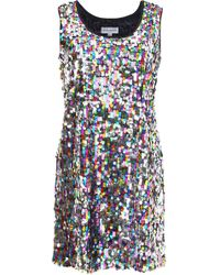 Mira Mikati - Sequin Tank Dress - Lyst