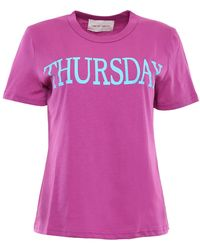 Alberta Ferretti - Thursday T-shirt - Lyst