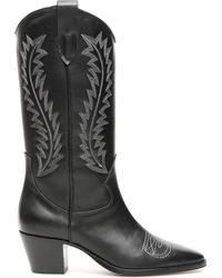 Paris Texas - Embroidered Camperos Boots - Lyst