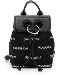 JW Anderson - Mini Pierce Monogram Backpack - Lyst