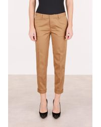 DSquared² - Cotton Trousers - Lyst
