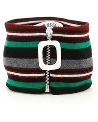 JW Anderson - Striped Wool Neckband - Lyst