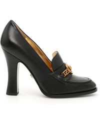 Versace - Tribute Loafer Heels - Lyst