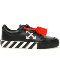 Off-White c/o Virgil Abloh - Black Arrow Low Vulcanized Sneakers - Lyst
