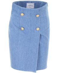 Forte Couture - Denim Skirt - Lyst