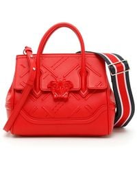 Versace - Embroidered Palazzo Empire Bag - Lyst