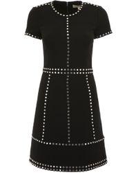 MICHAEL Michael Kors - Mini Dress With Studs - Lyst