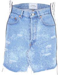 Forte Couture - Logo Mini Skirt - Lyst