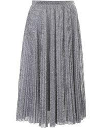 Philosophy - Pleated Lurex Skirt - Lyst