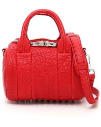 Alexander Wang - Mini Rockie Oyster Soft Pebble Leather Bag - Lyst