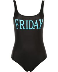 Alberta Ferretti - Friday Lycra One Piece Swimsuit - Lyst