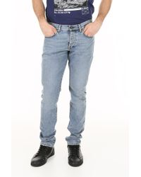 af192046be6 Saint Laurent Skinny Fit Jeans in Blue for Men - Lyst