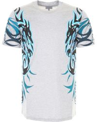 Lanvin - Dragon Printed T-shirt - Lyst