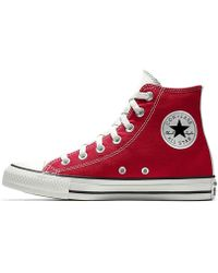 4bf3cbc12f23 Lyst - Converse Chuck Taylor All Star Velvet High Top Women s Shoe ...