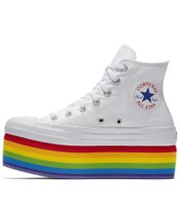 Converse - Pride X Miley Cyrus Chuck Taylor All Star Platform High Top Shoe - Lyst