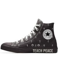81a5aef52795 Lyst - Converse Chuck Taylor All Star Ii Hi High-top Canvas Fashion ...