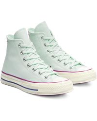 98bd46f94392 Converse One Star Mid Pastel Pack in Yellow - Lyst