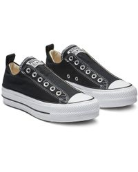 Converse Chuck Taylor All Star Lift Low Top in Pink - Lyst bf146ca8d