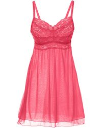 Cosabella | Never Say Never Extended Babydoll | Lyst