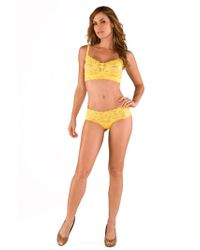 Cosabella - Never Say Never Hottietm Lace Lowrider Hotpant - Lyst