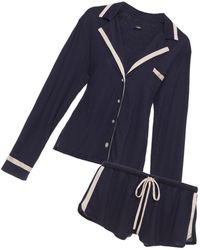 Cosabella - Bella Long Sleeve Top & Boxer Pyjama Set - Lyst