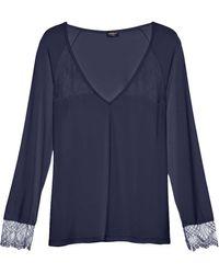 Cosabella - Cheyenne Long Sleeve Pyjama Top - Lyst