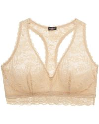 Cosabella - Never Say Never Curvy Racerback Bralette - Lyst