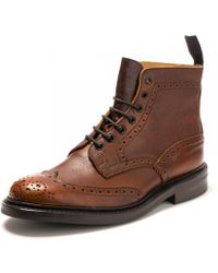 aa9c4f91dcd9c Officine Creative Brown Leather Lowry Boots in Brown for Men - Lyst