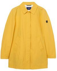 Gant | Spring Mac Womens Coat | Lyst