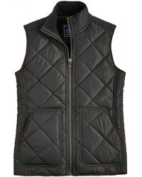 Joules - Grove Fleece Lined Quilted Mens Gilet (x) - Lyst