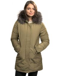 Woolrich - Luxury Arctic Fox Womens Parka - Lyst