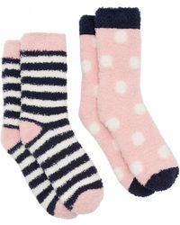 Joules | Fab Shortie 2-pk Womens Socks (x) | Lyst