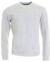 Original Penguin - Textured Panelled Mens Sweatshirt - Lyst