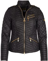 Barbour - Weld Quilted Womens Jacket - Lyst